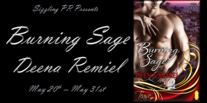 Burning Sage by Deena Remiel - Banner
